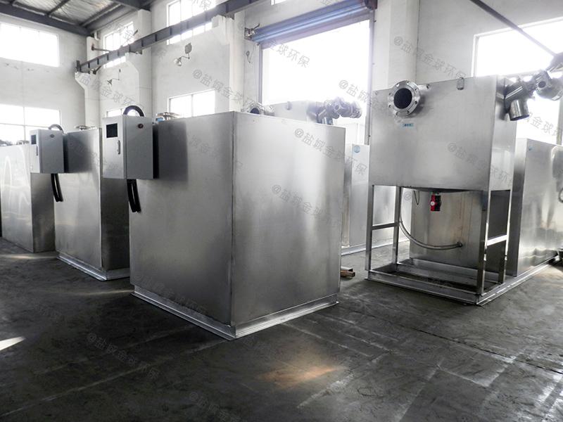 唐山饭店厨余油水分离器设计规范