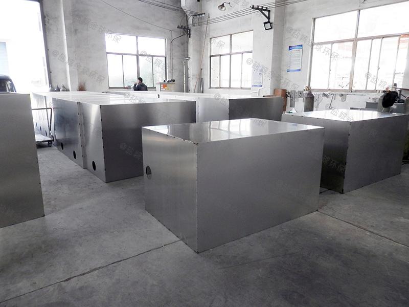河北商城厨余油水渣分离设备施工图纸