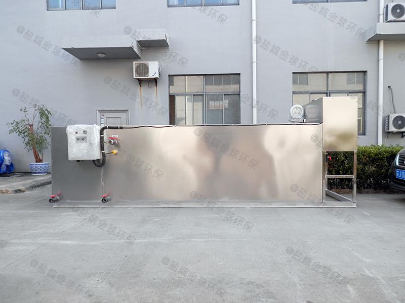 邯郸酒店废水餐厨垃圾油水渣自动分离工作原理