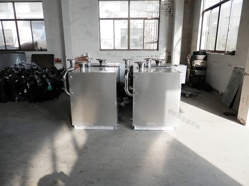 张家口304不锈钢板一体化隔油污水提升设备工作原理
