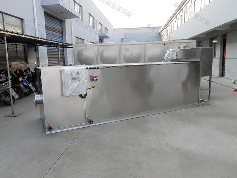 石家庄餐馆厨余油水渣分离设备规格