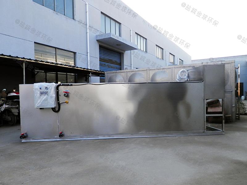 石家庄火锅店专用大型餐厨垃圾油水分离机作用