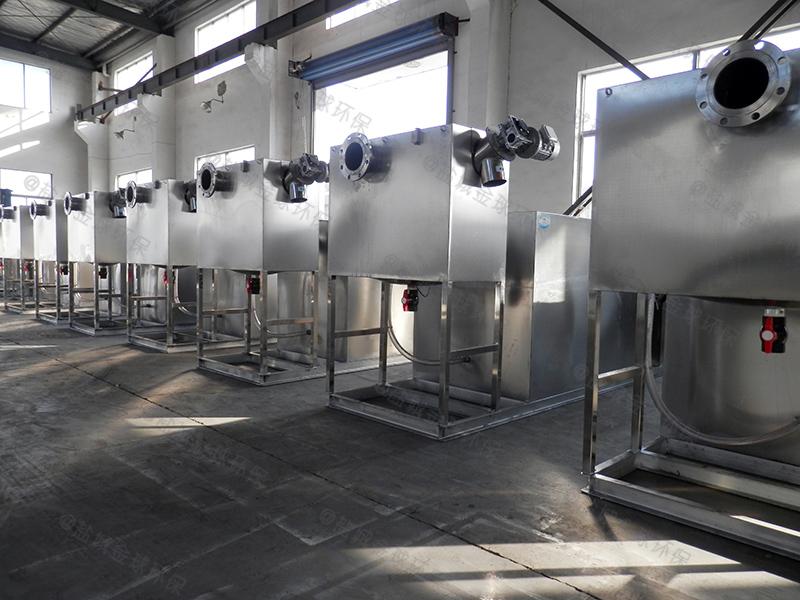承德餐饮泔水隔油设备规格