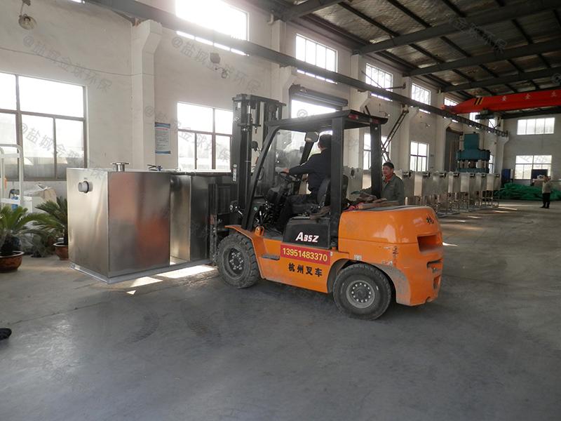 沧州餐饮一体化隔油污水提升设备设计标准