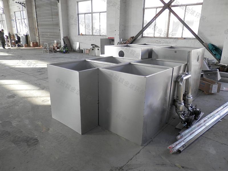 唐山加油站餐厨垃圾油水渣自动分离结构图