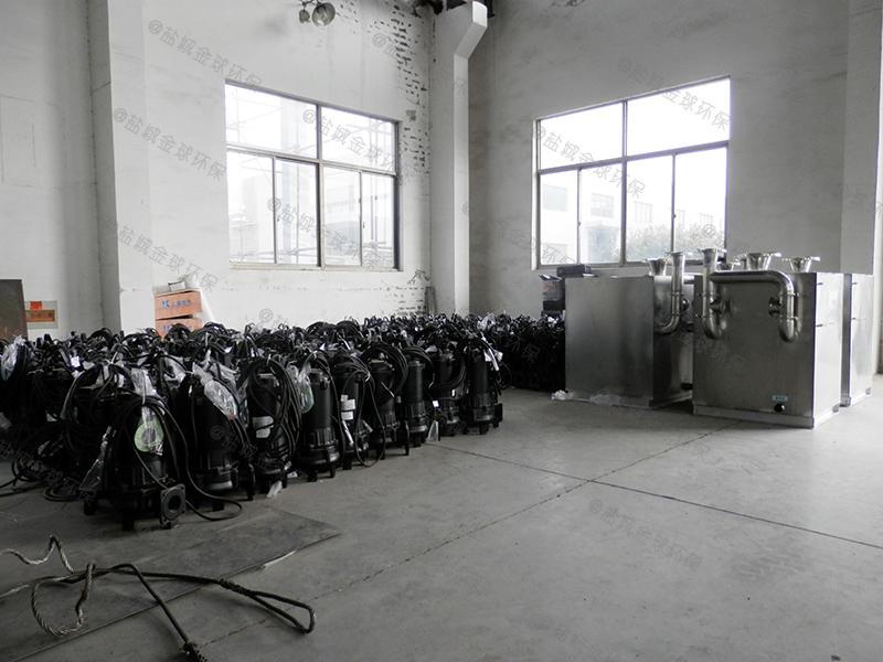 秦皇岛土建厨余油水分离器排水示意图