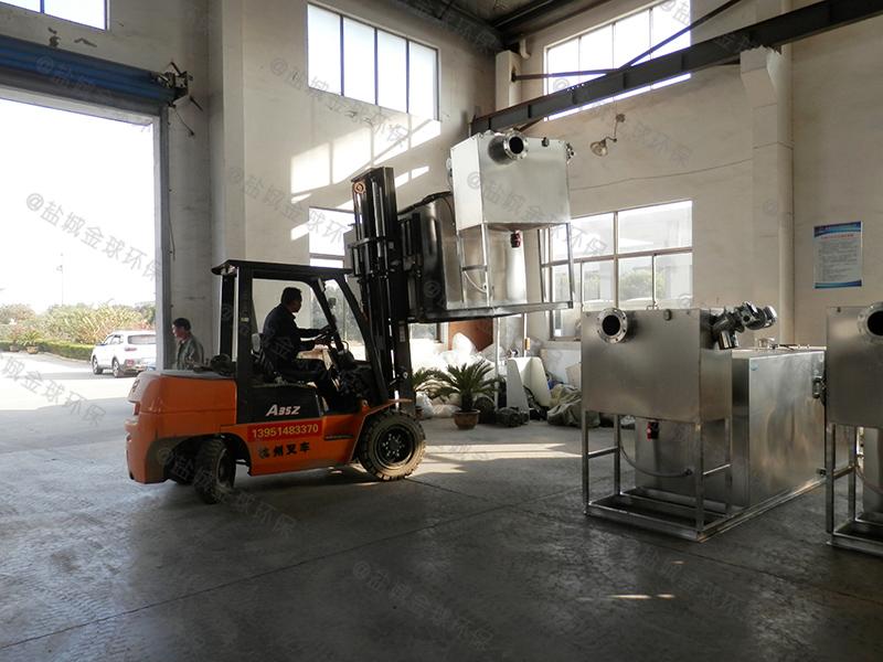 承德加油站一体化隔油提升设备施工
