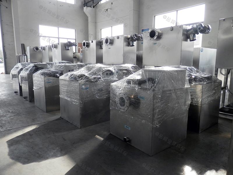 邯郸全自动温控加热酒店厨房下水道油水分离做多大