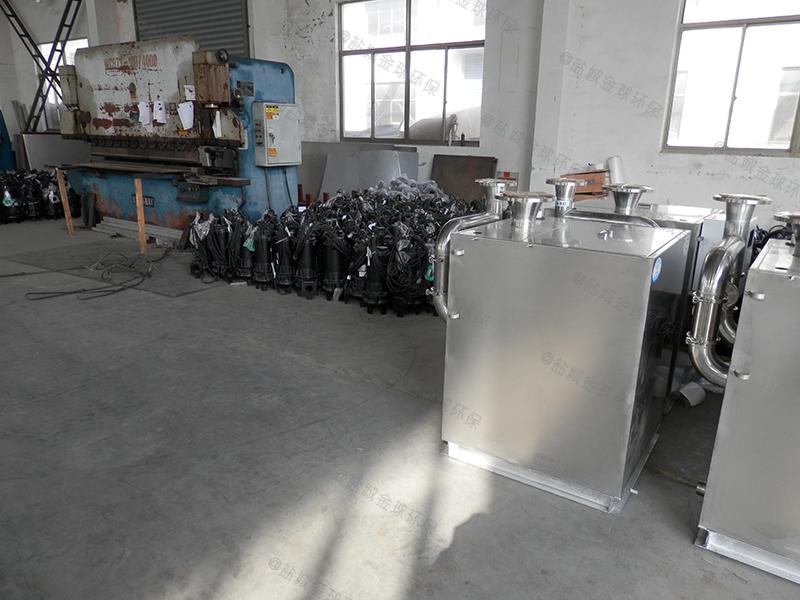 邯郸餐馆一体化隔油提升设备施工图