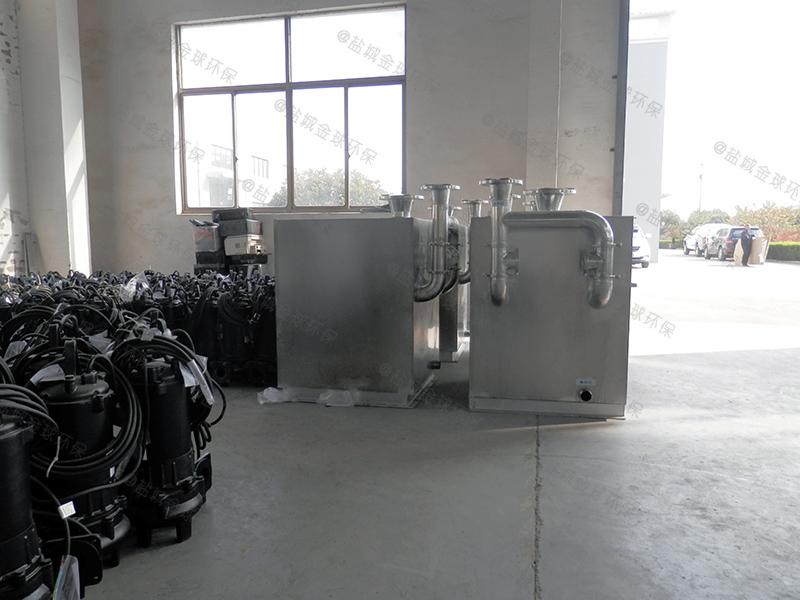 河北全自动加热一体化隔油提升设备标准图集