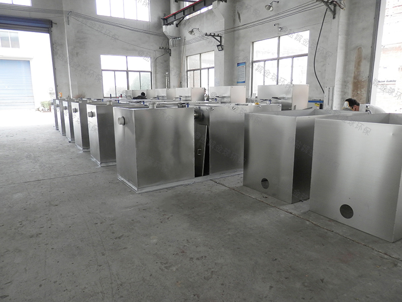 承德地下商场智能隔油提升一体化设备标准尺寸表
