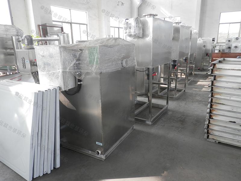 张家口餐余废水智能隔油提升一体化设备工作原理