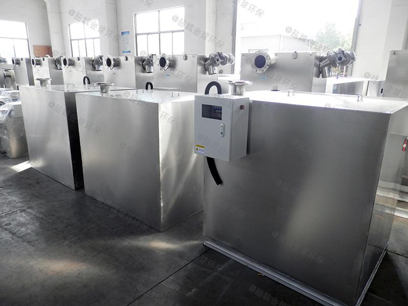 沧州餐馆废水一体化隔油污水提升设备大样