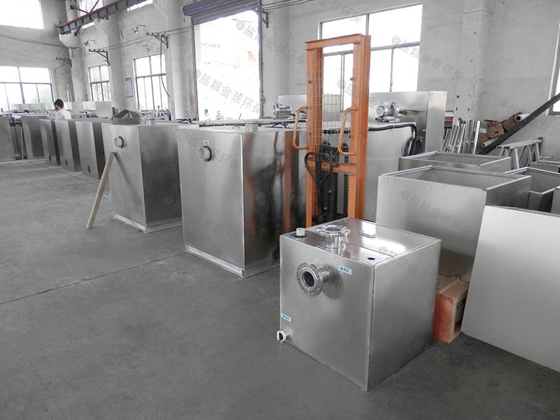 石家庄工程智能隔油提升一体化设备处理效率