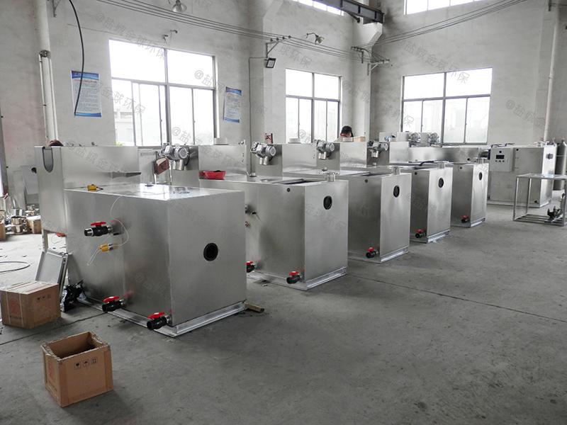 邯郸火锅店用油水分离器尺寸要求