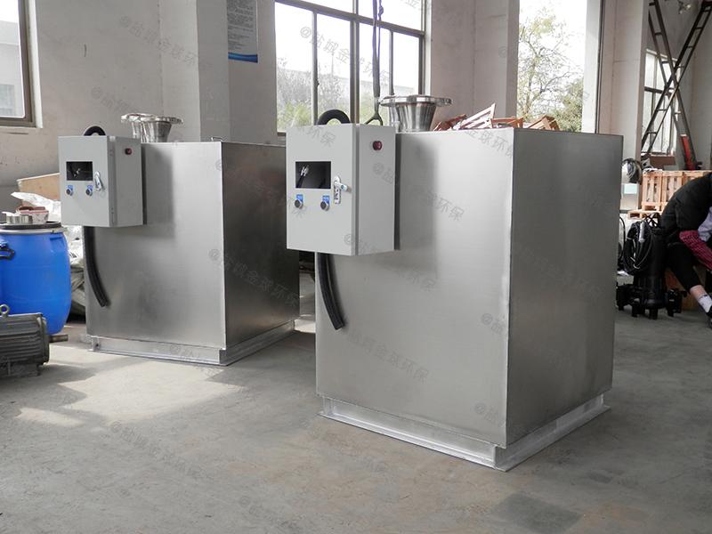 承德小区生活污水餐厨油水分离处理器商家