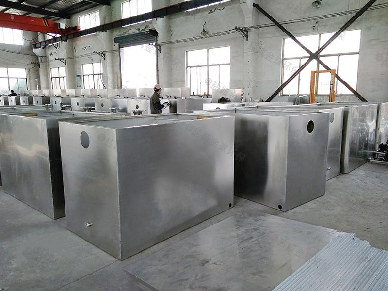衡水防腐餐厨油水分离处理器排放标准