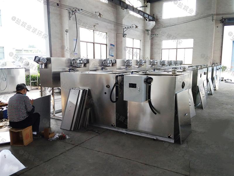 石家庄工地一体化隔油提升设备处理原理
