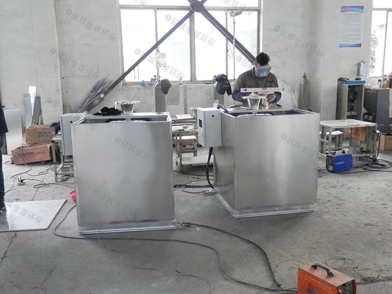 石家庄格栅隔油器原理结构