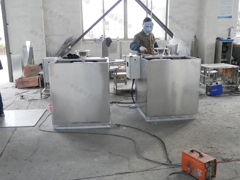 秦皇岛食堂用油脂分离机安装及维护