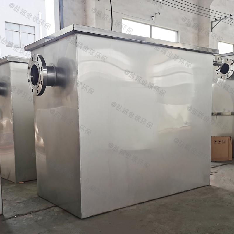 河北四级过滤隔油隔渣设备系统