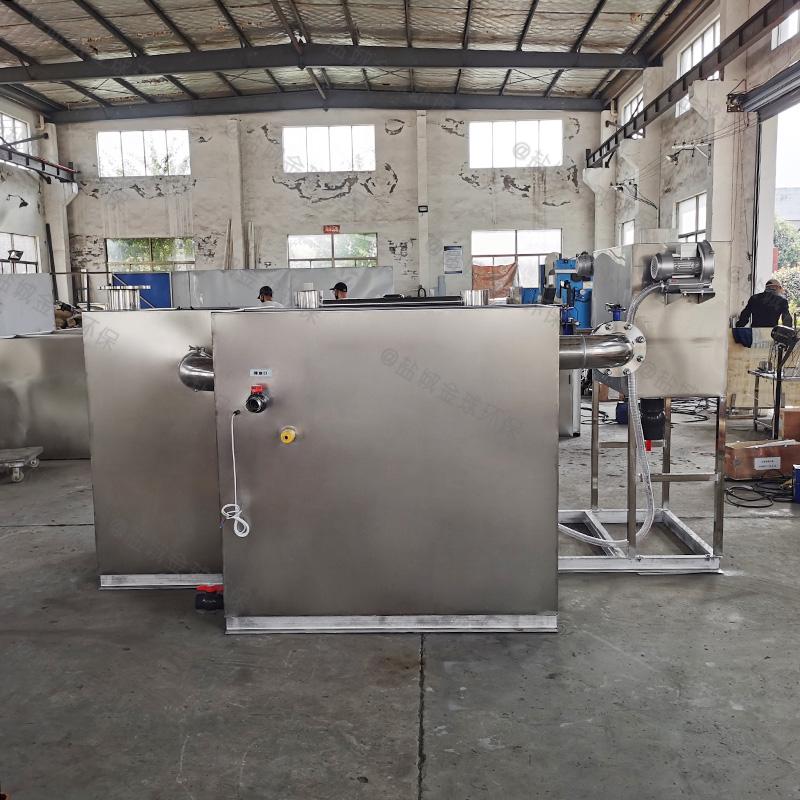 邢台直埋隔油池油脂生产成套设备