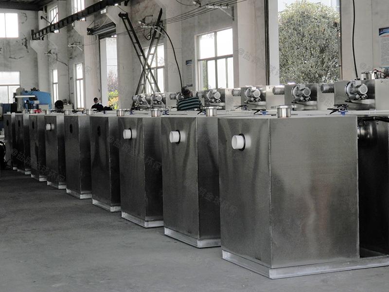 石家庄污水处理油水分离装置厨房厂家