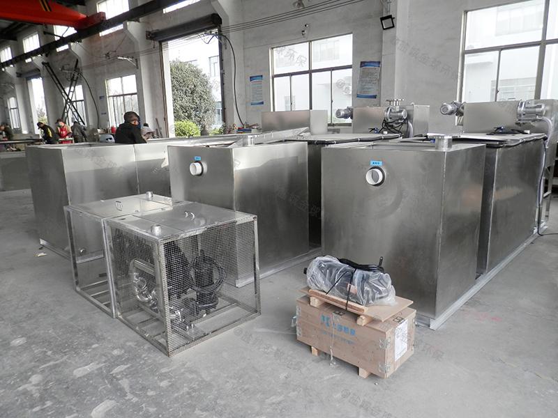 承德厨房用隔油处理装置方案
