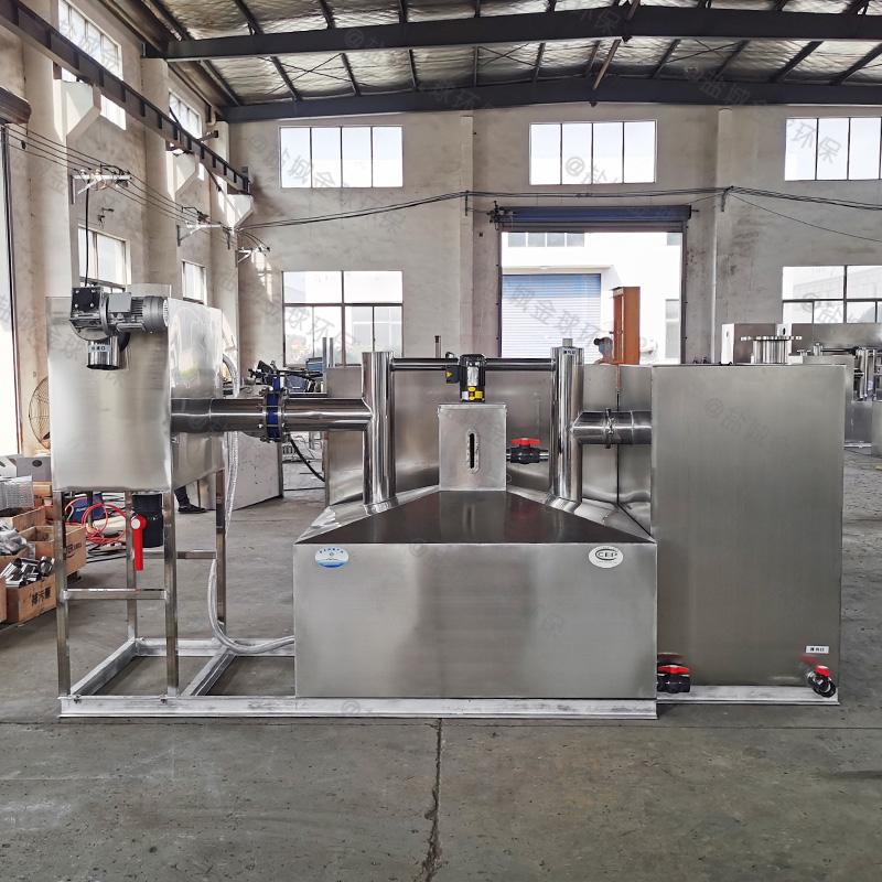 承德一体化隔油提升设备做法与尺寸图