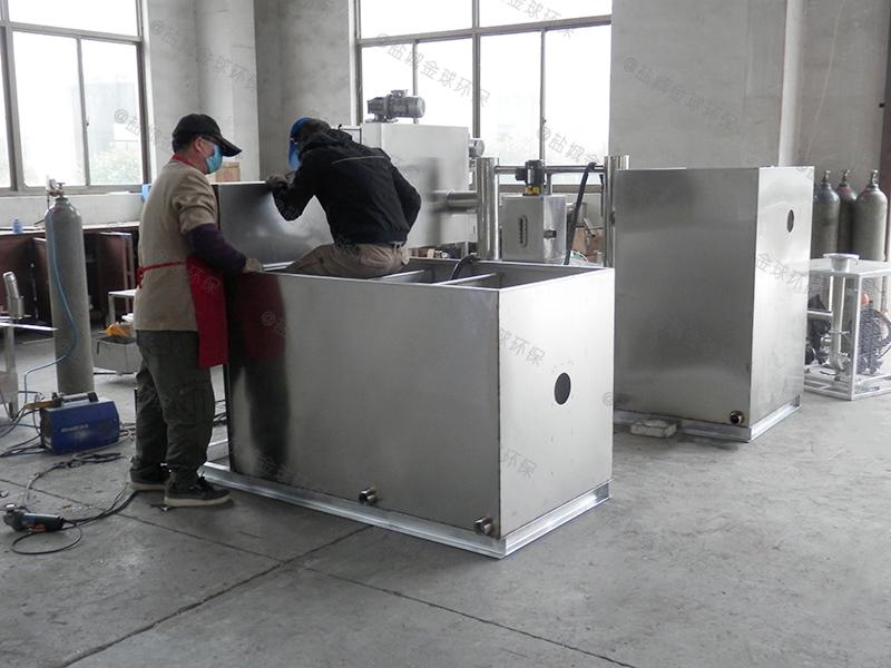 衡水餐厨垃圾隔油池操作规范