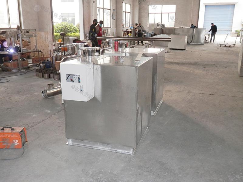 邢台小区生活污水隔油处理装置做法和尺寸图